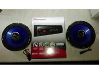 Car CD player + speakers Pioneer/Alpine