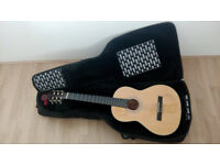 Manuel Ferrino Handmade Student Classical Guitar – Kingsman carry case & Westfield tuner