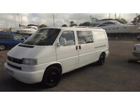 Vw t4 2.5tdi with cotrim camper conversion,new exhaust,windscreen,front shocks,loads more