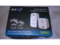 BT WiFi Home Hotspot Plus 600 Kit still boxed, unused.