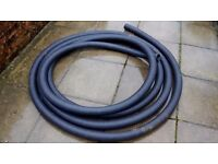 80mm perforated coil for garden drainage