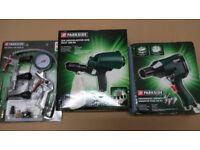 Parkside Air Tools Set (New in Original Box)
