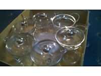 Revolving party bowl set (21 pieces) (NEW/never used)