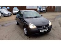 LOW MILEAGE RENAULT CLIO 1.2 & SERVICE AND WIDE UK WARRANTY INCLUDE ON SALE