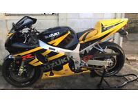 Suzuki GSXR 600 not a Yamaha r6