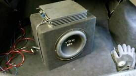 800w vibe sub subwoofer and amp