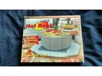 MICROWAVE HOT ROCK GRANITE FOOD WARMER