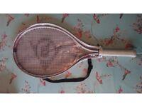 Two Tennis rackets Dunlop / Slazenger
