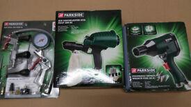 NEW! Air Tool Set + Sandblaster + Pneumatic Wrench £50ono