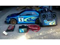 RC Subaru Rally Car