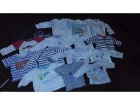 Boys clothes bundle - 0-3 months -