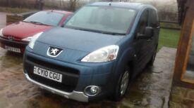 Peugeot Partner tepee MPV 1.6 diesel 2010