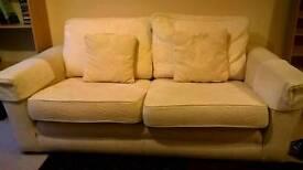Two person sofa.