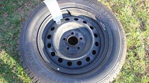 215-70-R16  , 4 Bridgestone Winter tire/rims   , 2002-2007  Toyota Highlander OR Dodge Caravan