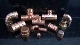 Yorkshire copper solder ring fittings