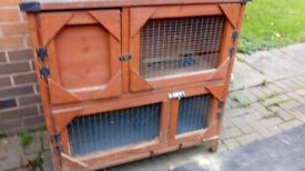 Hutches and large run