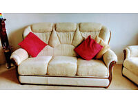 Three piece lounge suite for sale
