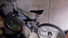 Mountain bike for sale.