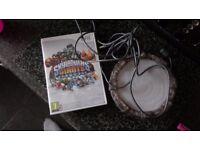Wii skylanders giant game and portal
