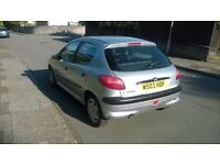peugeot 206, W reg 2000, Mot November 2017, Drives well
