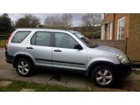 Honda CRV mot till sept with no advisories