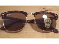 Ray-Ban Club Master Tortoise Shell Sunglasses