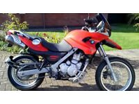 BMW F650GS, 2002, Only 6817 miles, New MOT, New Paint, New Powder Coating