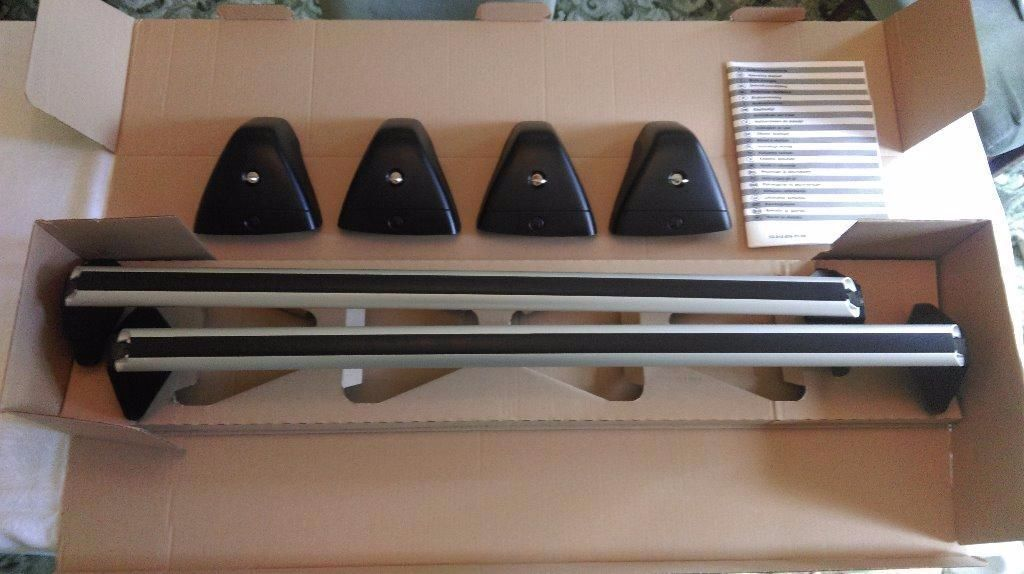 Vauxhall Astra J Roof Bars Amp Two Thule Pro Ride 591 Bike