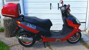 Saga Scooter (next to mint condition)