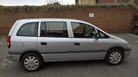 2002 Vauxhall Zafira Club 7 SEATER