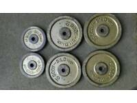 80kg Weight plates.