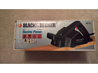 Black & Decker Electric Planer and shavings collection bag