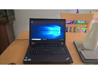 Lenovo Thinkpad T-420 Intel Core i5 ,Windows 10 laptop ,Solid state drive