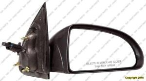 Door Mirror Manual Passenger Side Coupe Chevrolet Cobalt 2005-2010