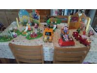 Collection of Peppa Pig toys