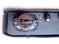 Planet 200 watt speakers in a Suzuki swift parcel shelf