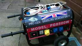 For sale generator used just 20 hours. Mint condition.