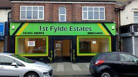 Large Double Fronted Retail Unit/Shop/Office, High Street, Fleetwood Town Centre