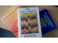 10 x HOMOEOPATHY & ALTERNATIVE HEALTH BOOKS . ALL GOOD CONDITION . SOME NEVER READ . SO ARE NEW .