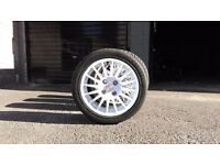 """0z multi spoke relly wheels 15""""with almost new tyres"""