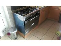 5 Gas Hob Cooker with Oven