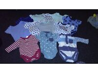 Boys clothes bundle - newborn, first size and up to 1 month