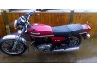 Kawasaki Z250a, 250 Twin, classic motorcycle