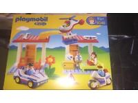 Brand new boxed Play Mobil 123 Police & Ambulance Set