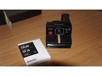 Polaroid Time Zero One Step Camera + Colour Film