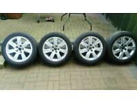 "Audi 17"" genuine alloys"