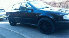 """Alloy wheels 18"""" 5x100 with wheel spacer 20mm"""
