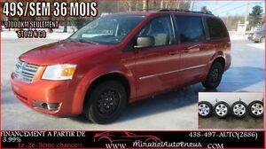 2008 Dodge Grand Caravan 8 ROUES HIVER/ÉTÉ *STOW N GO* SE/SXT