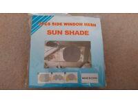 2 pack side window mesh sun shade
