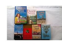8 Danielle Steel Novels 7 Books Now & Forever, Full Circle, Wings, Changes, The Ring, Amazing Graze